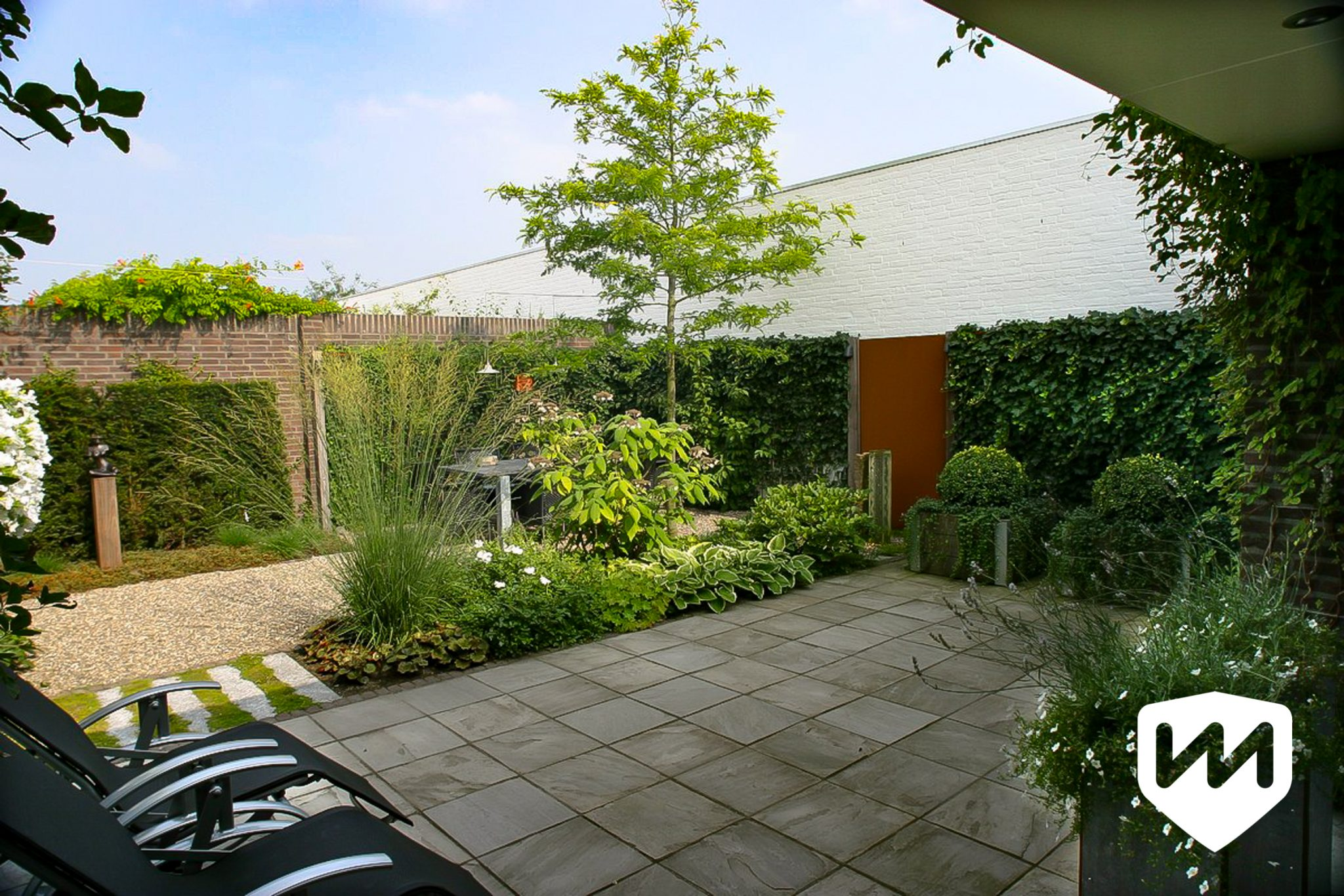 Eigentijdse stadstuin winnaar tuin van het jaar van